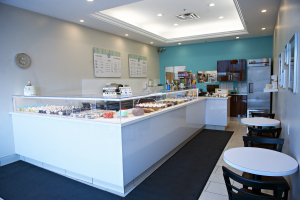 Fuss Cupcakes - inside the store
